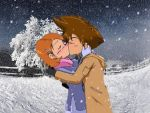 Taiora Kissing2 by Taiora18