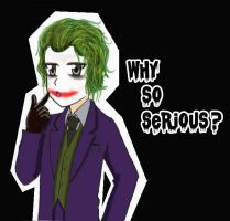 the joker by Degumon
