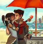 Ice Cream Date by AdventureIsOutThere