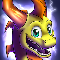 Sparky avatar 2 - commission by IcelectricSpyro