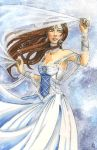 Snow Bride by CathyStephens