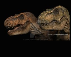 T Rex pair by GalileoN