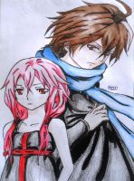 Shu and Inori by bem10