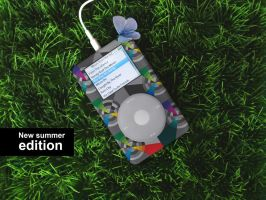 iPod summer edition by dotfreya