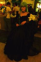 AWA 2012 Cosplayers - Beautiful Lady in Black by LordNobleheart
