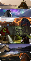 Banner Commissions by Lizandre