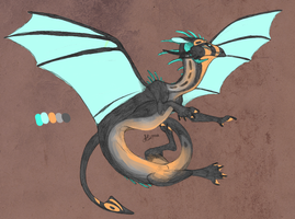 dragon AUCTION (closed) by coyotesoot