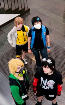 Ikebukuro's Finest Rejects by AlbinoTheUmbreon