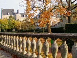 Fall in Limburg. Valkenburg by tahirlazim