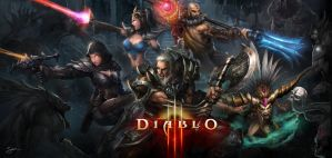 Diablo III Heroes by JohnLaw82