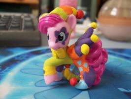 Jester Pinkie Pie Custom Blindbag by gecko443