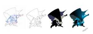 BatMan just for fun sketch... by makampo