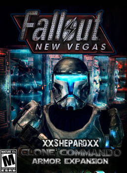 FallOut NewVegas :Republic Commando Armor Box Art by 411Remnant