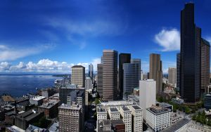 Seattle 1920 by IvanAndreevich