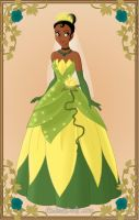 Tiana Wedding by monsterhighlover3