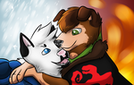 Fire and Ice {Hijack} by MokiHunter