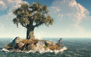 One Tree Island by deskridge