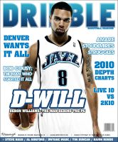 Dribble Magazine Cover by rjartwork