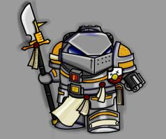 Chibi Grey Knight by skeenoman