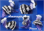 Amarante Black and White Lolita by RevRuby