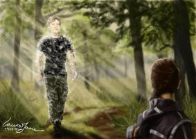 Katniss' Hallucination of Peeta by LauraJaneArnold