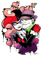 marker: Harley and Mr.J by KidNotorious