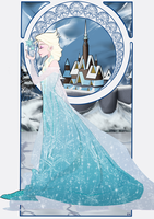Queen Elsa by Tokio92
