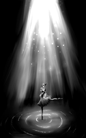 Swanlake -Black and White- by lorelei-melodei