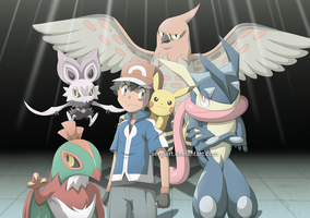 Pokemon XY and Z - Ikuze!! by SergiART