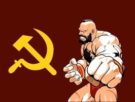 Zangief by themightyjbowski