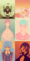 Free!: Colour Palette Meme by Tishawish