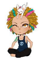 Chibi for MissKing by CookieHana