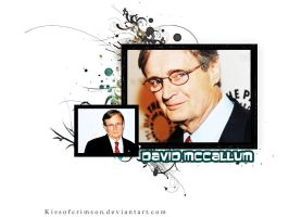 David McCallum by KissofCrimson