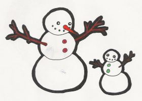 Two Snowmen by cascadia55