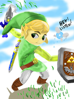 Toon link by ImmoralArts