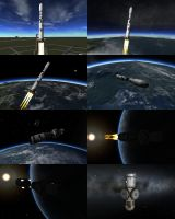 KSP - Station Core Launch by Shroomworks