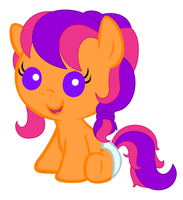 Baby G3 Scootaloo by Beavernator
