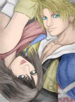 Tidus and Yuna by Galya85