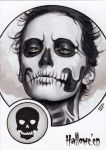 Hallowe'en Sketch Card - Sean Pence 1 by Pernastudios