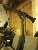 Mounted Machine Gun by RavingEagleMedia