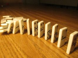Photography - Falling Dominoes (Final Unedited) by watermelemon