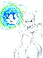 Mewtwo Strikes Back by narcotizedfear