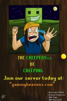 Creepers be Creeping by Vanzza