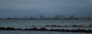 ACTIVITY PORT NEAR ANCOL BAY by diimaaz