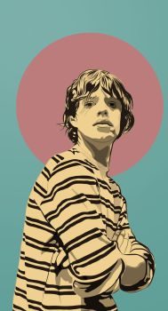 Mike Jagger by dccanim