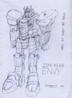 GSR- Envy Concept Sketch by VoltsPower2K