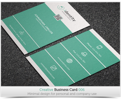 Creative Business Card 006 by SliverHit