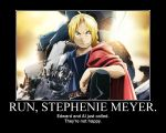 Run, Stephenie Meyer. V2 by NearRyuzaki90