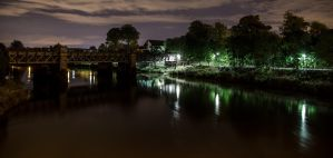 Stirling at Night by BusterBrownBB