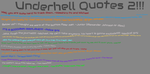 Underhell Quotes 2!!!!!!! by thefunny711